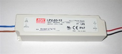 60W LED Power Supply | LED Driver, Class 2, 12vDC, Wet Location UL Listed