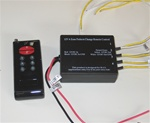 LED Remote Control Unit - 4 Channel, 4 Relay (L/M) - 12vDC | 24 Amp