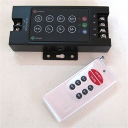 RGB LED Controller and Handheld RF Control with Dimming and Speed Control