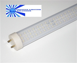 T8 LED Light Tube - 4 foot, 300LED, 1500 Lumens, 17W, Commercial Quality, CE/ROHS