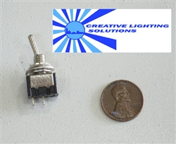 Mini Project/Automotive Toggle Switch - 3 Amp, 125v