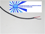 Bulk 2 Conductor, Sheathed Wire, 24ga. LED Pod Wire, Stranded & Tinned - PER FOOT