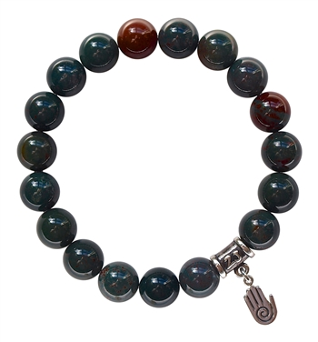 Bloodstone Bracelet BE CREATIVE - zen jewelz