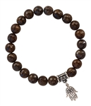 TAKE ACTION - Bronzite Healing Crystal Bracelet - zen jewelz
