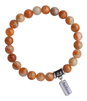 Orange Calcite Bracelet MAXIMIZE YOUR POTENTIAL - zen jewelz