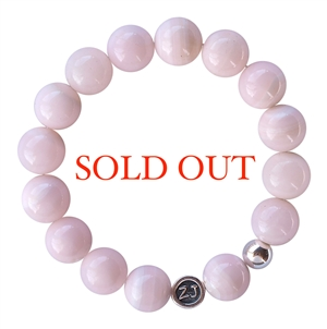 Pink Mangano Calcite Bracelet PURITY - zen jewelz
