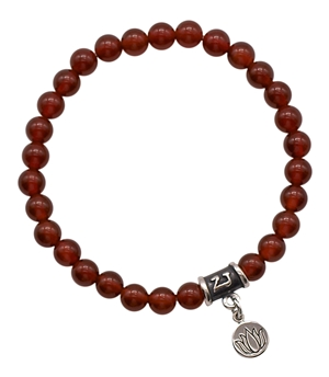 Carnelian Bracelet BE MOTIVATED - zen jewelz