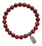 NURTURE YOURSELF - Natural Sponge Coral Healing Crystal Bracelet - zen jewelz