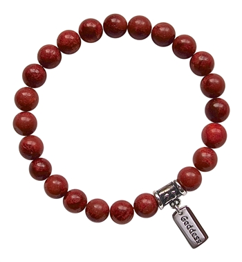 Natural Sponge Coral Bracelet NURTURE YOURSELF - zen jewelz