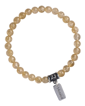 Citrine Bracelet JOY - zen jewelz