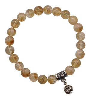 Citrine Bracelet PROSPERITY - zen jewelz