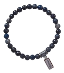 Dumortierite Bracelet OPEN TO CHANGE - zen jewelz