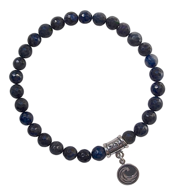 Dumortierite Bracelet ELEMENT WATER - zen jewelz