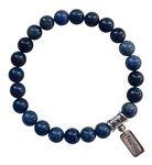 STEP INTO YOUR POWER - Dumortierite Healing Crystal Bracelet - zen jewelz