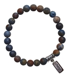 Sunset Dumortierite Bracelet Patience - zen jewelz