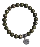 Epidote Bracelet MANIFEST INTENTIONS - zen jewelz