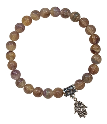 BE OPEN - Fluorite Healing Crystal Bracelet - zen jewelz