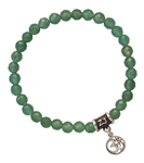 Green Aventurine Bracelet CREATE - zen jewelz