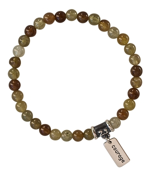 Hessonite Garnet Bracelet SHINE - zen jewelz