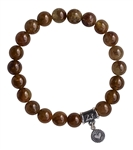 Green Garnet Bracelet LOVE YOURSELF - zen jewelz