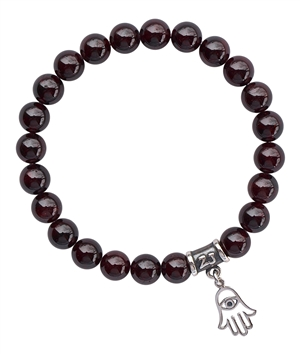 Garnet Bracelet DEVOTION - zen jewelz