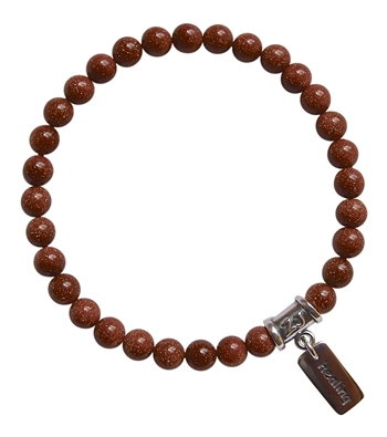 GIVE ME GUIDANCE - Goldstone Healing Crystal Bracelet - zen jewelz
