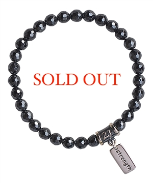 Hematite Bracelet WILLPOWER - zen jewelz