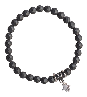 Matte Hematite Bracelet BE STRONG - zen jewelz