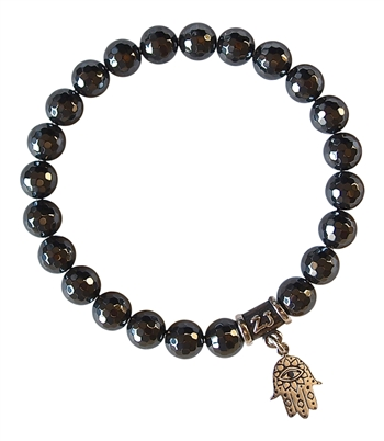 Hematite Bracelet BE PROTECTED - zen jewelz