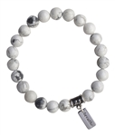 Howlite Bracelet CALMING MOMENTS - zen jewelz