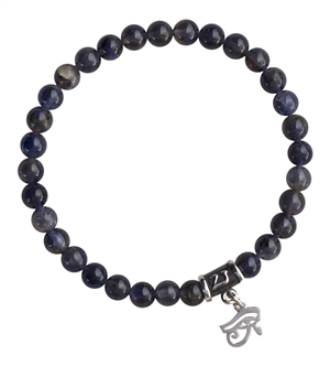 MY TRUTH - Iolite Healing Crystal Bracelet - zen jewelz