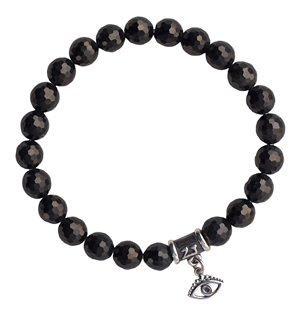 Jet Bracelet GOOD VIBES - zen jewelz