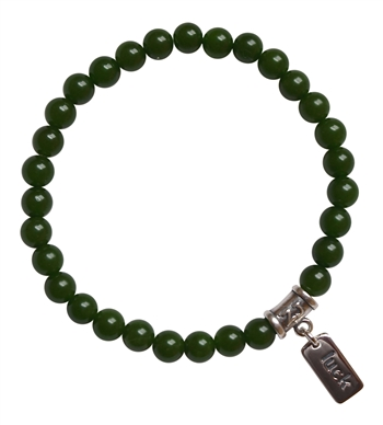 BE LUCKY - Green Jade Healing Crystal Bracelet - zen jewelz