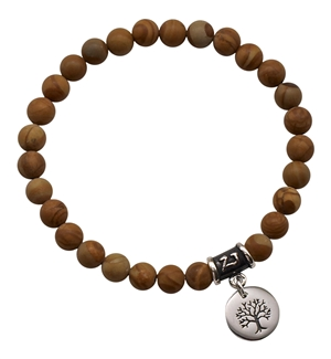 Wood Jasper Bracelet SOOTHE YOUR SOUL - zen jewelz