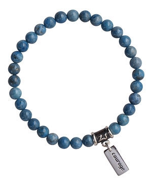 Lapis Lazuli Bracelet BE TRUE TO YOURSELF - zen jewelz