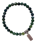 Moss Agate Bracelet FRESH START - zen jewelz