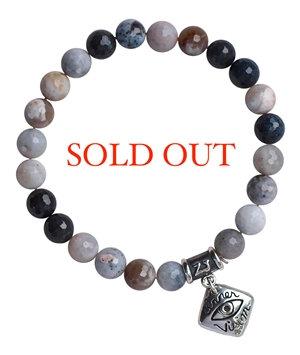 Merlinite Bracelet WORK YOUR MAGIC - zen jewelz