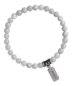 Moonstone Bracelet BREATHE - zen jewelz