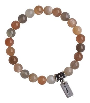 Moonstone Bracelet PEACE - zen jewelz