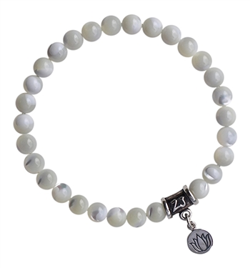 Mother of Pearl Bracelet HARMONY - zen jewelz
