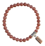 Rose Muscovite Bracelet ANTI AGING - zen jewelz