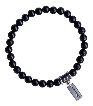 BE FEARLESS - Onyx Healing Crystal Bracelet - zen jewelz
