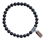 Matte Onyx Bracelet GIVE ME STRENGTH - zen jewelz