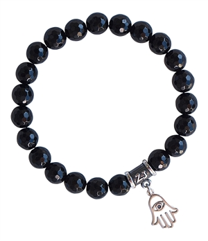 BE POSITIVE - Onyx Healing Crystal Bracelet - zen jewelz