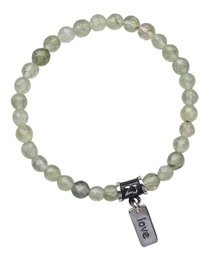 Prehnite Bracelet UNCONDITIONAL LOVE - zen jewelz