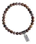 Pietersite Bracelet INNER KNOWING - zen jewelz