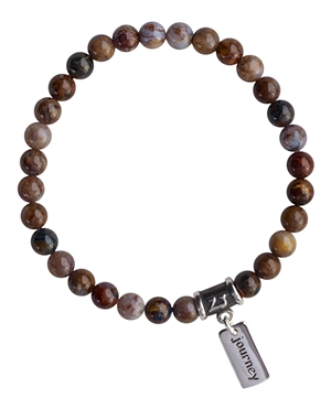 INNER KNOWING - Pietersite Healing Crystal Bracelet - zen jewelz