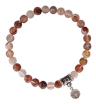 DIVINE HAPPINESS - Cherry Quartz Healing Crystal Bracelet - zen jewelz