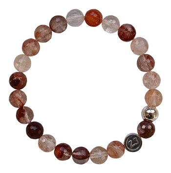 Cherry Quartz Healing Crystal Bracelet - zen jewelz