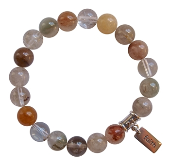 Rutilated Quartz Bracelet SPIRITUAL GROWTH - zen jewelz
